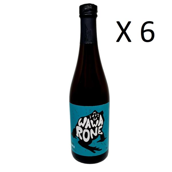 Caisse de 6 bières artisanales Wawarone triple de 75 centilitres